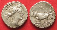 -81 Roman Republic CAIUS MARIUS CAPITO 81...