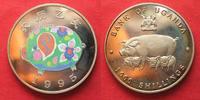 1995 Uganda UGANDA 1000 Shillings 1995 Lunar YEAR OF THE PIG Cu-Ni Pro... 18,99 EUR  +  5,00 EUR shipping