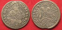 1635 Schweiz - Graubünden Swiss CHUR City 10 Kreuzer 1635 silver aXF! ... 139,99 EUR  plus 6,50 EUR verzending