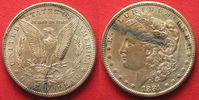 1881 Vereinigte Staaten von Amerika US Morgan Dollar 1881 S silver aUN... 29,99 EUR  +  5,00 EUR shipping