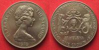 1978 St. Helena ST. HELENA Crown 1978 25th ANN. OF CORONATION Cu-Ni UN... 9,99 EUR  +  5,00 EUR shipping