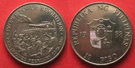 1988 Philippinen PHILIPPINES 10 Piso 1988 PEOPLE POWER REVOLUTION nick... 9,99 EUR  +  5,00 EUR shipping