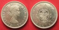 1964 Kanada CANADA 1964 PROOFLIKE CHARLOTTETOWN SILVER DOLLAR # 94033 ... 16,99 EUR  +  5,00 EUR shipping