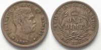 1883 Hawaii HAWAII Dime (Umi Keneta) 1883 KALAKAUA I silver VF+ # 9423... 149,99 EUR  +  6,50 EUR shipping