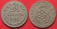 1809 Schweiz - Bern Swiss BERN 2-1/2 Rappen 1811 billon UNC/BU!!! # 94... 99,99 EUR  +  5,00 EUR shipping
