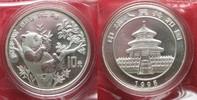 1995 China CHINA 10 Yuan 1995 Panda large twig 1 ounce pure silver SEA... 74,99 EUR  +  5,00 EUR shipping