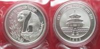 1993 China CHINA 10 Yuan 1993 Panda 1 ounce pure silver SEALED BU! # 9... 89,99 EUR  +  5,00 EUR shipping