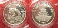 1999 China CHINA 10 Yuan 1999 small date Panda 1 ounce pure silver SEA... 199,99 EUR  +  6,50 EUR shipping