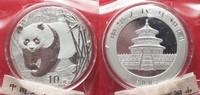 2002 China CHINA 10 Yuan 2002 Panda 1 ounce pure silver SEALED BU! # 9... 84,99 EUR  +  5,00 EUR shipping