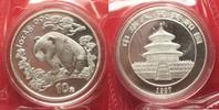 1997 China CHINA 10 Yuan 1997 Panda 1 ounce pure silver SEALED BU! # 9... 84,99 EUR  +  5,00 EUR shipping