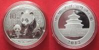 2012 China CHINA 10 Yuan 2012 Panda 1 ounce pure silver BU # 94385 st  39,99 EUR  +  5,00 EUR shipping
