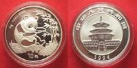 1994 China CHINA 10 Yuan 1994 Panda 1 ounce pure silver BU # 94386 st  69,99 EUR  +  5,00 EUR shipping