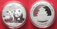 2010 China CHINA 10 Yuan 2010 Panda 1 ounce pure silver BU # 94387 st  44,99 EUR  +  5,00 EUR shipping