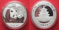 2011 China CHINA 10 Yuan 2011 Panda 1 ounce pure silver BU # 94388 st  34,99 EUR  +  5,00 EUR shipping
