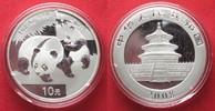 2008 China CHINA 10 Yuan 2008 Panda 1 ounce pure silver BU # 94390 st  44,99 EUR  +  5,00 EUR shipping