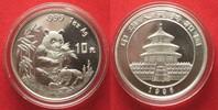 1996 China CHINA 10 Yuan 1996 Panda 1 ounce pure silver BU # 94393 st  59,99 EUR  +  5,00 EUR shipping