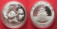 2006 China CHINA 10 Yuan 2006 Panda 1 ounce pure silver BU # 94394 st  74,99 EUR  +  5,00 EUR shipping