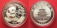 1994 China CHINA 10 Yuan 1994 Panda 1 ounce pure silver BU # 94397 st  69,99 EUR  +  5,00 EUR shipping