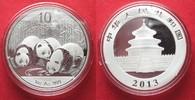2013 China CHINA 10 Yuan 2013 Panda 1 ounce pure silver BU # 94398 st  32,99 EUR  +  5,00 EUR shipping