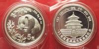1998 China CHINA 5 Yuan 1998 Panda HONG KONG COIN CONVENTION 1/2 oz si... 69,99 EUR  +  5,00 EUR shipping