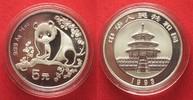 1993 China CHINA 5 Yuan 1993 Panda 1/2 oz silver BU # 94403 st  29,99 EUR  +  5,00 EUR shipping