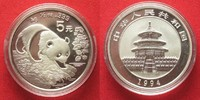 1994 China CHINA 5 Yuan 1994 Panda 1/2 oz silver BU # 94405 st  34,99 EUR  +  5,00 EUR shipping