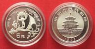 1993 China CHINA 5 Yuan 1993 Panda 1/2 oz silver BU # 94406 st  29,99 EUR  +  5,00 EUR shipping
