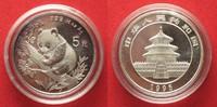 1995 China CHINA 5 Yuan 1995 Panda 1/2 oz silver BU # 94407 st  39,99 EUR  +  5,00 EUR shipping