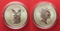 1995 Australien 1 oz pure silver AUSTRALIAN KANGAROO 1 Dollar 1995 BU ... 36,99 EUR  +  5,00 EUR shipping