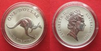 1993 Australien 1 oz pure silver AUSTRALIAN KANGAROO 1 Dollar 1993 BU ... 34,99 EUR  +  5,00 EUR shipping