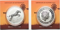 2015 Australien 1 oz pure silver AUSTRALIAN STOCK HORSE 1 Dollar 2015 ... 46,99 EUR  +  5,00 EUR shipping