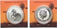 2014 Australien 1 oz pure silver AUSTRALIAN STOCK HORSE 1 Dollar 2014 ... 46,99 EUR  +  5,00 EUR shipping
