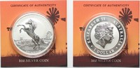 2013 Australien 1 oz pure silver AUSTRALIAN STOCK HORSE 1 Dollar 2013 ... 69,99 EUR  +  5,00 EUR shipping