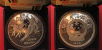 1990 China CHINA 50 Yuan 1990 Rspeed skaters OLYMPICS BARCELONA silver... 209,99 EUR  plus 6,50 EUR verzending