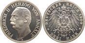 3 Mark 1909  A Anhalt Friedrich II. 1904-1...