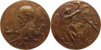 Schlesien-Breslau, Stadt Bronzegu&szlig;medaille oJ ( 1885 Sch&ouml;ne Patina, vorz... 200,00 EUR 