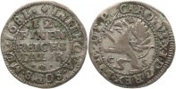 Pommern-unter Schweden 1/12 Taler Karl XI. 1660-1697.