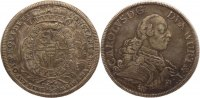 W&uuml;rttemberg Konventionstaler 1761 Sch&ouml;ne Patina, sehr sch&ouml;n+ Karl Eugen ... 592.81 US$ 