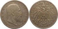 5 Mark 1901  F Württemberg Wilhelm II. 1891-1918. Schöne Patina, winz. ... 35,00 EUR  +  5,00 EUR shipping