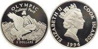 2 Dollar 1996 Cook Inseln Britisch seit 1773. Polierte Platte  10.23 US$ 9,00 EUR