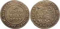 1/24 Taler 1693  IK Sachsen-Albertinische Linie Johann Georg IV. 1691-1... 45,00 EUR
