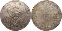 Breiter Sterbetaler 1672 Sachsen-Altenburg Friedrich Wilhelm III. 1669-... 2350,00 EUR free shipping