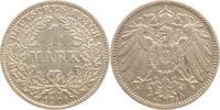 1 Mark 1901  G Kleinmünzen  Winz. Randfehler, sehr schön  5.68 US$ 5,00 EUR