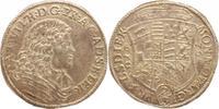 2/3 Taler 1676  CP Anhalt-Zerbst Carl Wilhelm 1667-1718. Herrliche Pati... 250,00 EUR