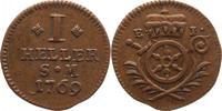 1 Heller 1769 Erfurt-Bistum Emmerich Joseph von Breitbach-Bürresheim 17... 50,00 EUR