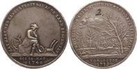 Silbermedaille 1740 Schlesien  Schöne Patina, winz. Randfehler, sehr sc... 85.27 US$ 75,00 EUR