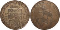 Anhalt-Bernburg 2/3 Taler Victor Friedrich 1721-1765.