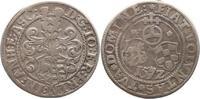 Anhalt-gemeinschaftlich 1/4 Taler Joachim Ernst 1570-1586.