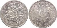 3 Mark 1915  A Preußen Wilhelm II. 1888-1918. Kleine Randfehler, vorzüg... 575,00 EUR