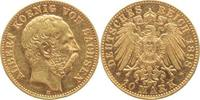 10 Mark Gold 1898  E Sachsen Albert 1873-1...